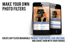Polaroid Digital Camera App - make your own photo filters!