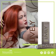 If you are looking for a gentle formula, try Lively: it is ammonia, PPD and paraben free / Se cercate un colore dalla formula delicata, provate Lively, senza ammoniaca, PPD e parabeni #hair #hairstyle #haircolour #haircolor #fashion #style #longhair #curly #straight #black #brown #red #blonde #hairfashion #coolhair #bauty #nouvellecolor #hsacosmetics #silkycolor