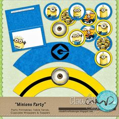 Claudell Crafts: Free minion printable