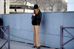 Paris – SvetLana Shashkova. #PFW, #Fashion, #FashionWeek, #FW16, #Moda, #Mode, #Paris, #Street, #StreetStyle, #Style, #SvetLanaShashkova, #Woman, #Women Photo © Wayne Tippetts