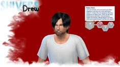 Sims 4 Updates: Drew Shivers - Mods / Traits : Custom CAS Trait: Hates Sims, Custom Content Download!