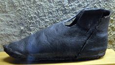 Novgorod leather shoe