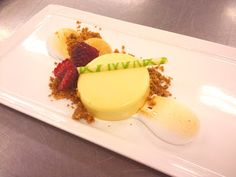 deconstructed key lime pie