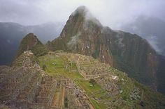 I promise myself I WILL NOT DIE without having been up here. Machu Pichu, Peru.