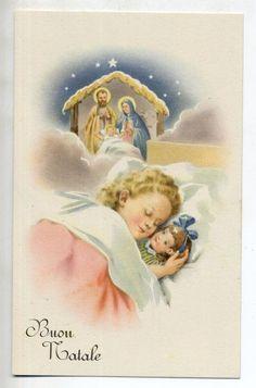 ZANDRINO Serie Completa di 6 cartoline Bambini Natale PC Circa 1940
