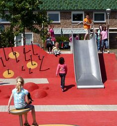 Van Campenvaart Playground by Carve. Location: the Hague, Netherlands, 2010.