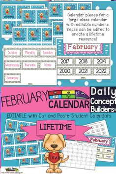 Newly Revised! This vocabulary calendar is now editable. This Valentine's Day calendar incorporates both Math and ELA. Each day has a February vocabulary word on cute cards, in addition to a Valentine's Day pattern. We've also included a teacher guide for activities to do with our calendar. Something new that we just added is our student calendar where the kiddos cut and paste their valentine shaped words onto their black and white calendars. We also included a guide to use for the students.