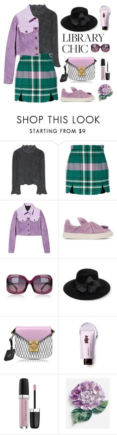 """""""Library Chic"""" by neverboring ❤ liked on Polyvore featuring Balenciaga, Philosophy di Lorenzo Serafini, Burberry, Ports 1961, dvb, Eric Javits, MCM, Innisfree, Marc Jacobs and Dolce&Gabbana"""
