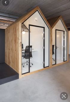 Office Cube, Office Pods, Tiny Office, Office Fit Out, Open Office, Creative Office Space, Office Space Design, Office Interior Design, Corporate Interiors