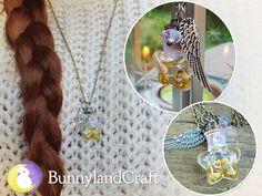 Stars in a bottle by BunnyLandCraft ★ Follow me on FB: www.facebook.com/BunnylandCraft ★