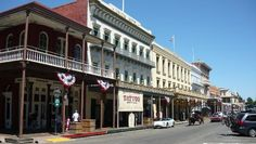 Old Sacramento (This historic area of restored buildings, museums and novelty shops brings life to the Sacramento waterfront) - Sacramento, CA