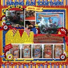 Goofy Great Goofini - MouseScrappers - Disney Scrapbooking Gallery