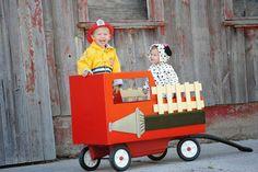 Smedley Family: Fireman & Dalmatian {Halloween Costumes 2013}
