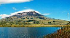EL VOLCAN NEVADO Y LA LAGUNA DE CUMBAL, EN NARIÑO, COLOMBIA. (NOTA: COCHA=LAGUNA) Volcán Cumbal - Rey de las alturas