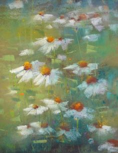 Are You in a Paper Rut? Pastel Paper Tips, painting by artist Karen Margulis