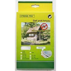 Sieť Strend Pro FlyScreen cm, proti hmyzu, na balkón, bal.