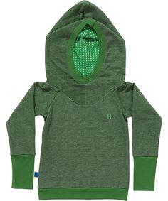 Albababy super coole groene hoodie. albababy.nl.emilea.be