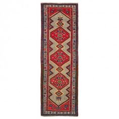 Antique Sarab Runner - 3 5 x10 2