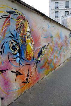 Paris 13 - bd Vincent auriol- street art - c215