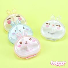 Kawaii Bunny Pill Box