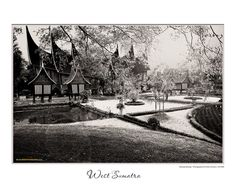 Rumah Gadang or Big House from West Sumatra, Indonesia
