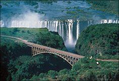 Victori Falls in Zimbawe