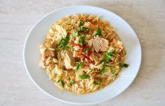 """""""Γιουβέτσι"""" με τόνο (ή άλλο ψαρικό κονσέρβας) - cretangastronomy.gr Risotto, Ethnic Recipes, Food, Essen, Meals, Yemek, Eten"""