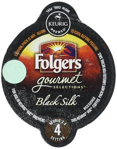 Keurig Vue Cup Folgers Black Silk - 16 Pack * You can find out more details at the link of the image.