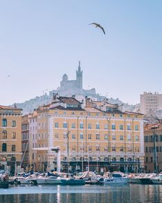 An early morning in Marseille
