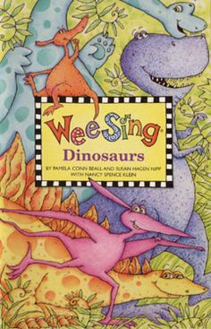 Dinosaur songs..I should see if they have this at the library.