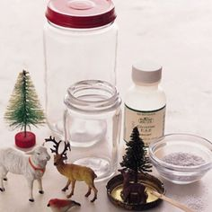 cheap and easy christmas crafts homemade decoration snow globe