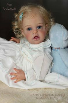 Mae-Louise by Alicia Toner - Online Store - City of Reborn Angels Supplier of Reborn Doll Kits and Supplies