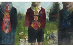 Peter Blake Boys with New Ties