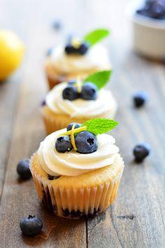 Blueberry Lemon Cupc