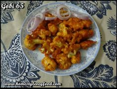 Gobi 65 | Cauliflower 65 | Gobi Fry | Cauliflower Fry | Gobi Starter