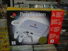 "PolyStation ; ""It's just not a game anymore !!"""