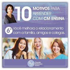 Claudia Matarazzo , Cursos EAD , Você vai melhorar seus relacionamentos em todas as situações. #claudiamatarazzoensina