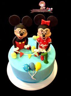 Cake minnie e topolino