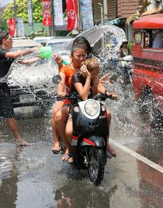 Songkran Water Festival – New Year Celebration in Thailand