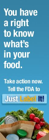 If this issue is not solved now, generations to come will pay the price! www.justlabelit.org