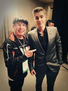 Justinbieber: With Rafael the legend