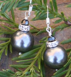 SALE SALE SALE Christmas Holiday Dark Gray Silver by chuckhljal, $17.80