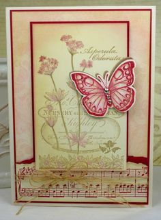 CC383 Raspberry Garden by BeckyTE - Cards and Paper Crafts at Splitcoaststampers
