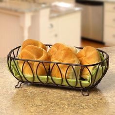 Love this Leaf Bread Basket by Spectrum Diversified Designs, Inc. World Recipes, Gourmet Recipes, Snack Recipes, Healthy Recipes, Bread Packaging, Savory Scones, Zuchinni Recipes, Upscale Restaurants, Serving Dishes