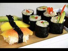 Il sushi vegano crudista - videoricetta