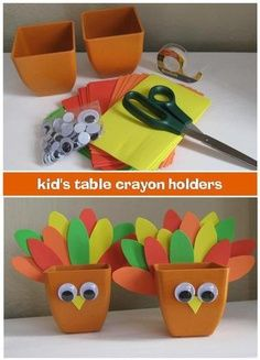 thanksgiving craft with pasta | Thanksgiving crafts for the kids table