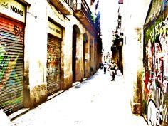 Barcelona, Spain...back streets