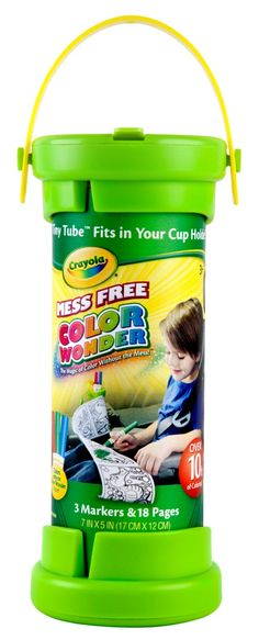 Crayola Color Wonder Tiny Tube $6.99 This one compact tube holds over 10 feet of perforated coloring pages