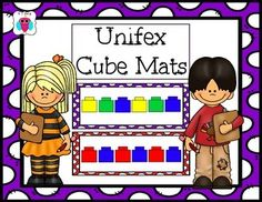 This is a set of 12 different patterned unifex cube cards.  It also includes the same pattern, in a different unifex direction for a total of 24 cards.  This set includes AB, ABC, ABB and AAB pattern mats.  The students can match the unifex cubes and then they can continue the patterns.