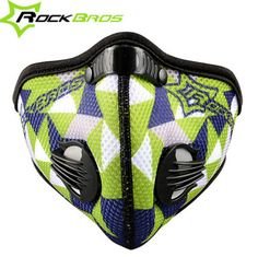 Masks & Eye Masks Cycling Strong-Willed Rockbros Cycling Face Mask Filter Anti-dust Haze Mouth-muffle Face Cover